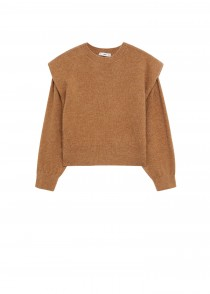 PULLOVER RUGBY, CAMEL